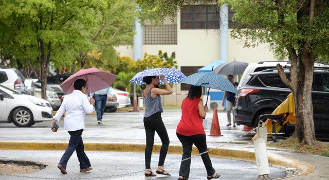 Lluvias seguirán en RD por efectos de vaguadas - Caoba Digital